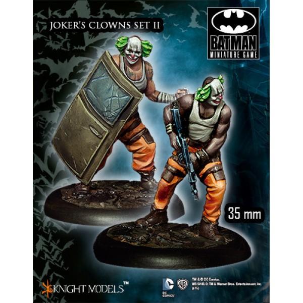 Batman Miniatures Game - JOKER's Clowns Set II