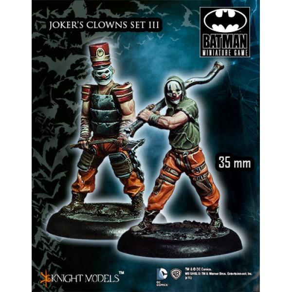 Batman Miniatures Game - JOKER's Clowns Set III