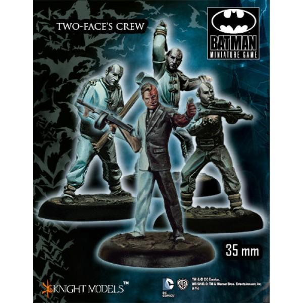 Batman Miniatures Game - TWO-FACE's Crew Starter Set