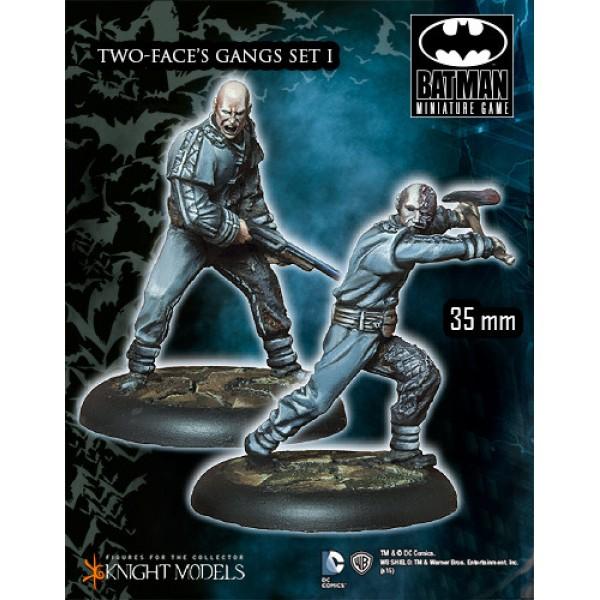 Batman Miniatures Game - TWO-FACE's Gang Set I