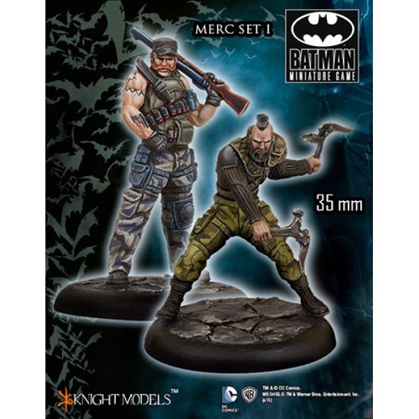 Batman Miniatures Game - MERCS Set I