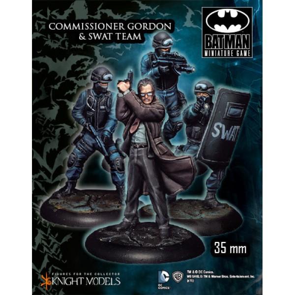 Batman Miniatures Game - Commissioner Gordon & SWAT Team Starter Set
