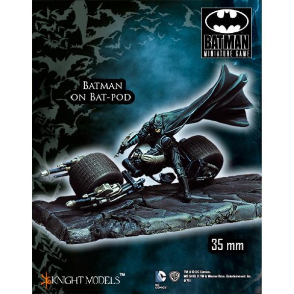 Batman Miniatures Game - BATMAN on Bat-Pod