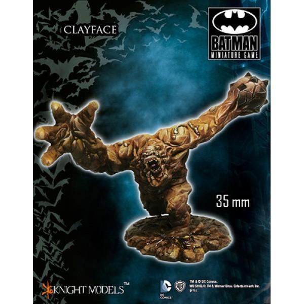 Batman Miniatures Game - CLAYFACE
