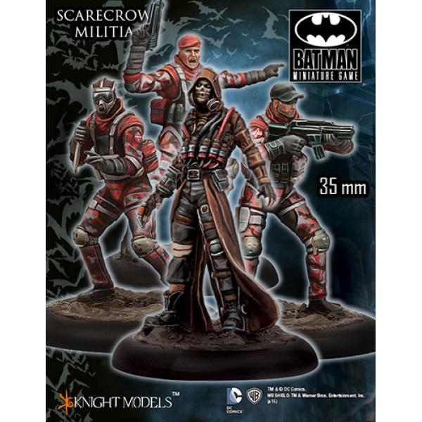 Batman Miniatures Game - SCARECROW Militia Starter Set