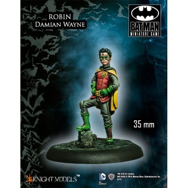 Batman Miniatures Game - ROBIN (Damien Wayne)