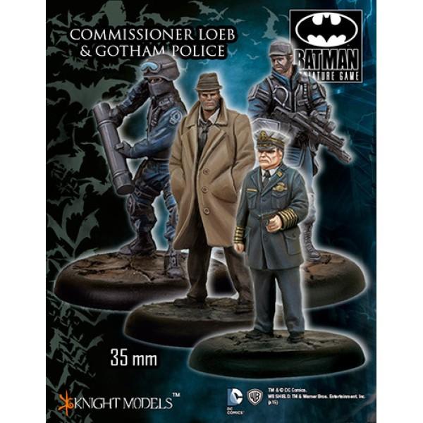 Batman Miniatures Game - Commissioner Loeb & Gotham Police Starter Set