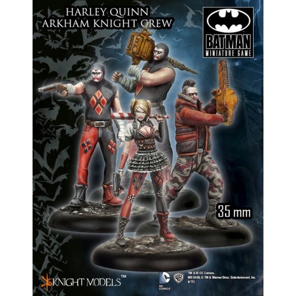 Batman Miniatures Game - HARLEY QUINN Arkham Knight Crew Starter Set