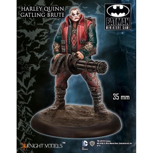 Batman Miniatures Game - Gatling Brute (Harley Crew)