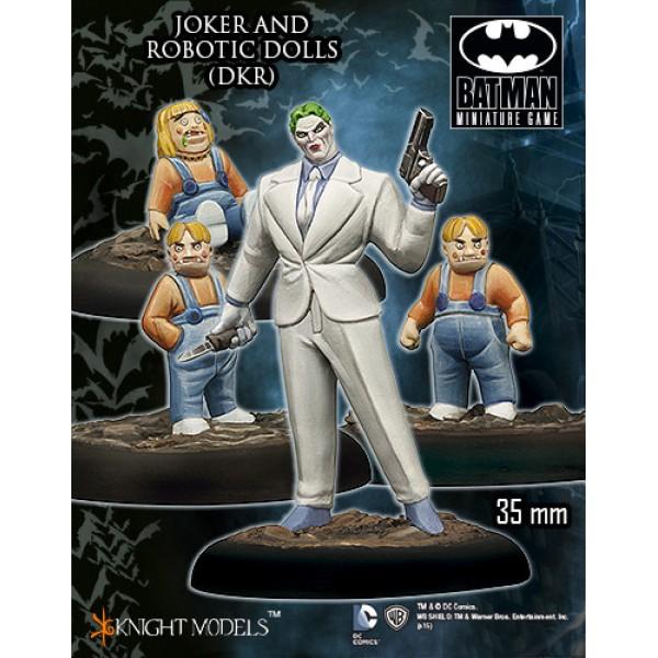 Batman Miniatures Game - JOKER and Robotic Dolls Starter Set