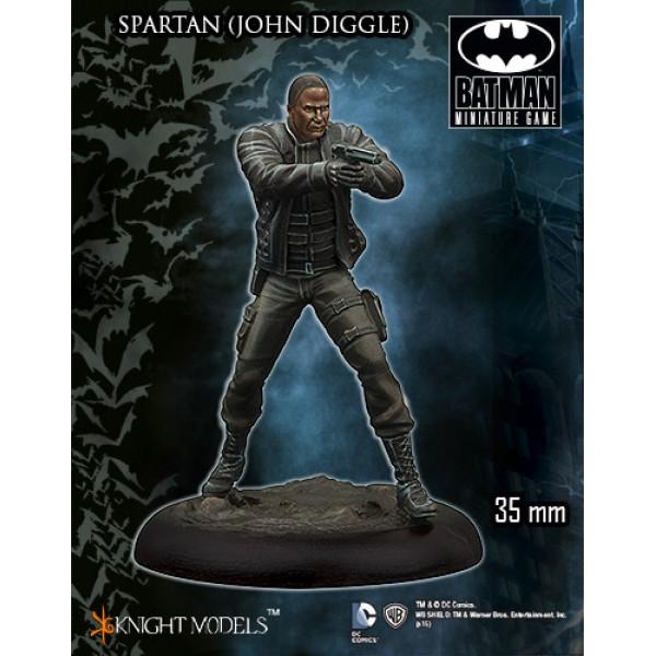 Batman Miniatures Game - SPARTAN (John Diggle)