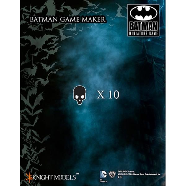 Batman Miniatures Game - BLACK MASK Markers
