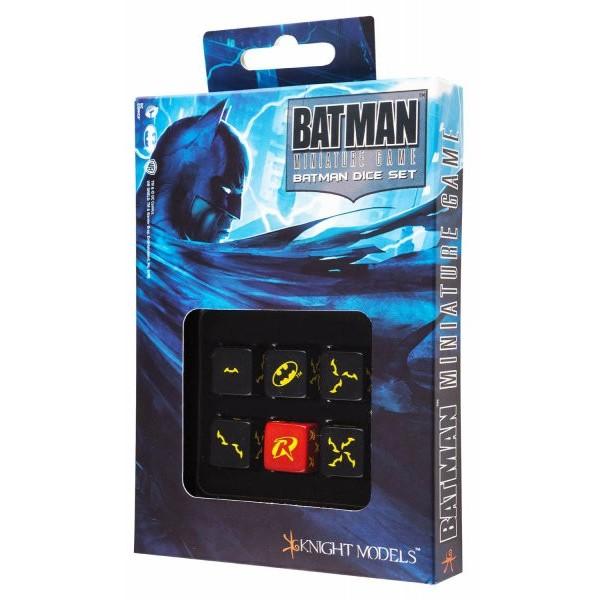 Batman Miniatures Game - Dice Set - BATMAN
