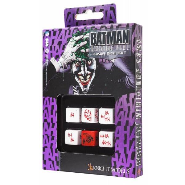 Batman Miniatures Game - Dice Set - JOKER