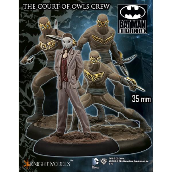 Batman Miniatures Game - The Court of Owls Crew Starter Set