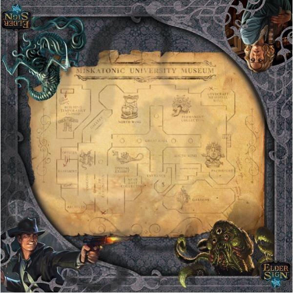 Elder Sign - Museum Game Mat