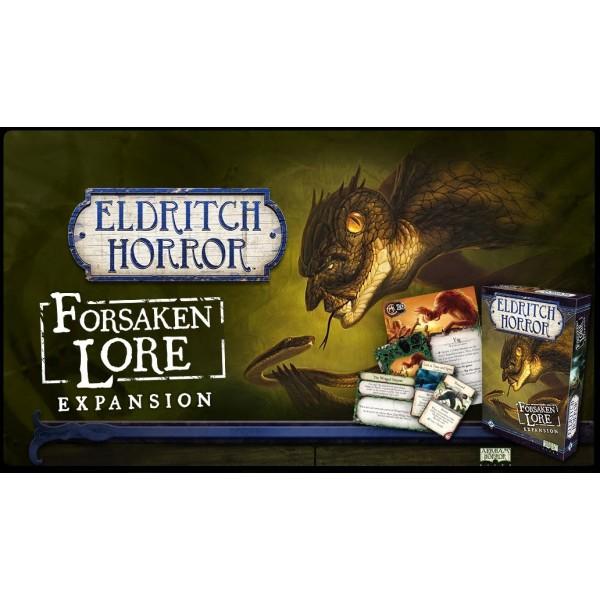 Eldritch Horror - Forsaken Lore Expansion