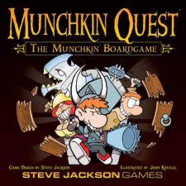 Munchkin Quest - Board Game