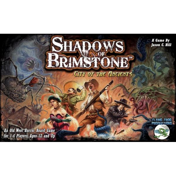 Shadows of Brimstone - City of Ancients - Core Set  *See Notes*
