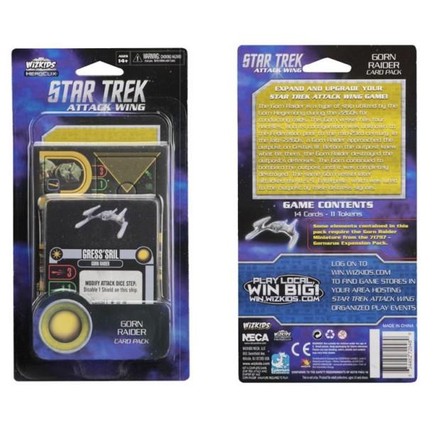 Star Trek - Attack Wing Miniatures Game - Gorn Raider Card Pack Wave 3