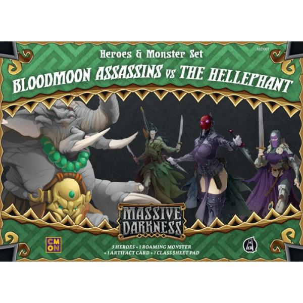 Massive Darkness - Bloodmoon Assassins vs The Hellephant Expansion