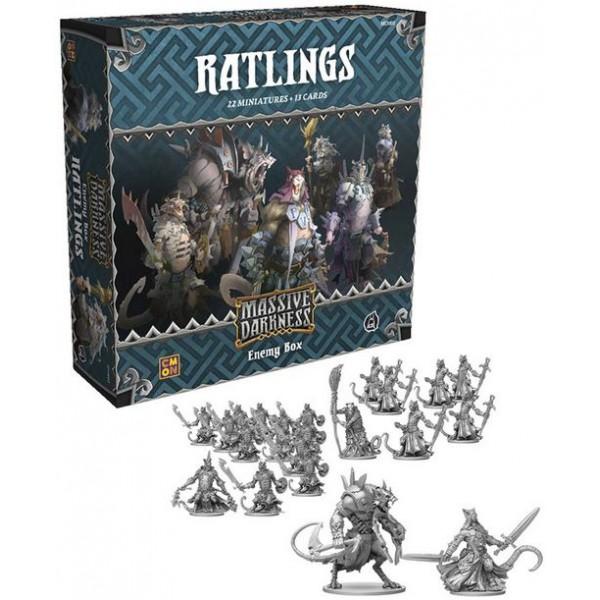 Massive Darkness - Enemy Box - Ratlings