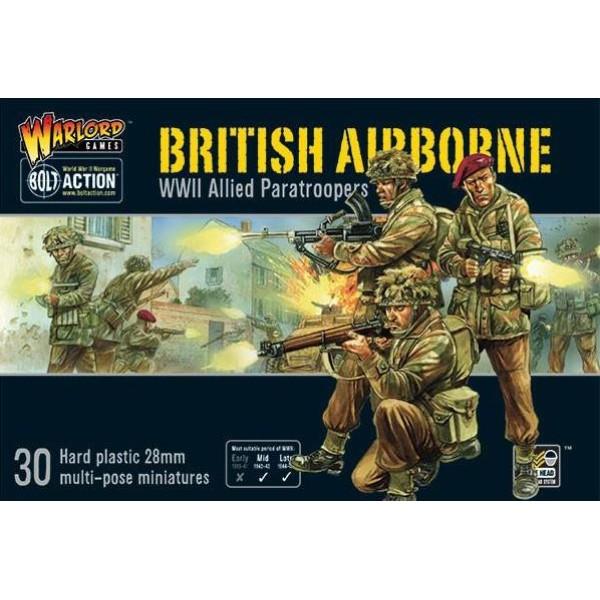 Bolt Action - British - British Airborne WWII Allied Paratroopers