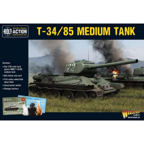 Bolt Action - Soviet - T-34/85 Medium Tank (plastic)