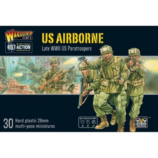 Bolt Action - US - US Airborne Plastic Boxed Set
