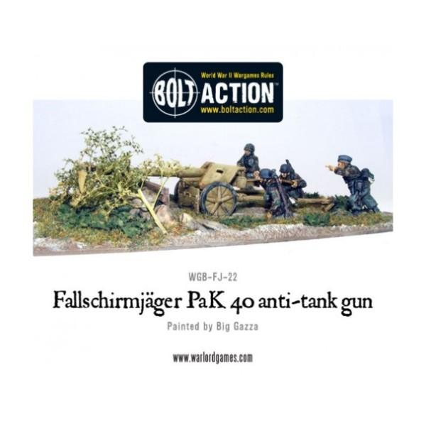 Bolt Action - Germany - Fallschirmjager PaK 40 & 4 Crew