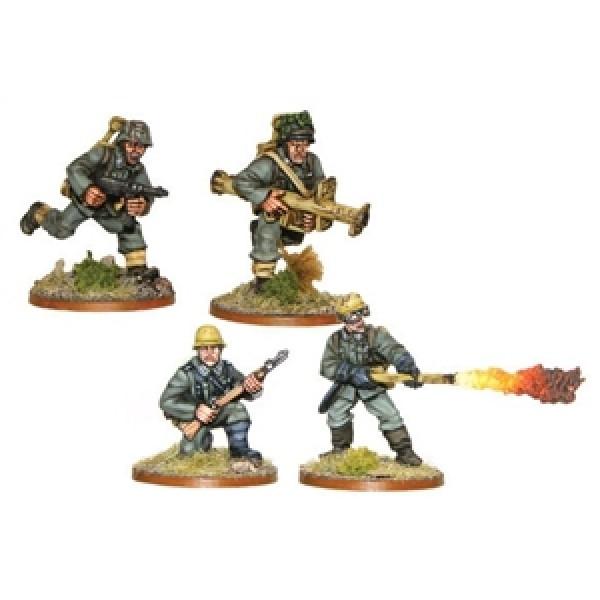 Bolt Action - Germany - Heer Pioneer Panzerschreck and Flamethrower Teams