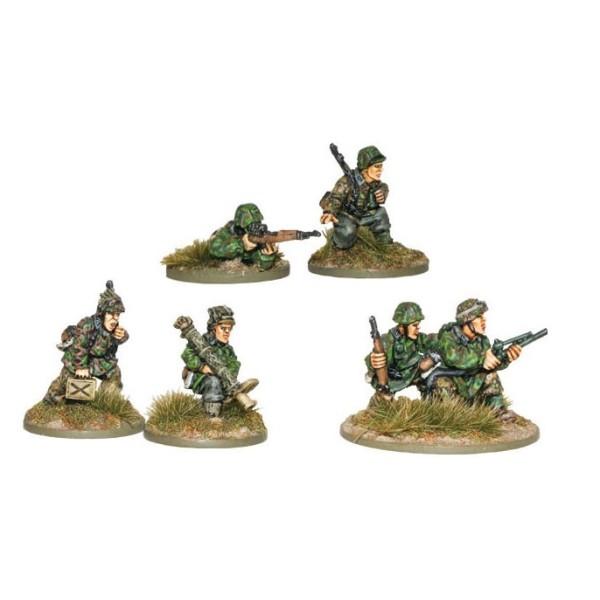 Bolt Action - Germany - Waffen SS Sniper, Flamethrower & Panzerschreck Teams