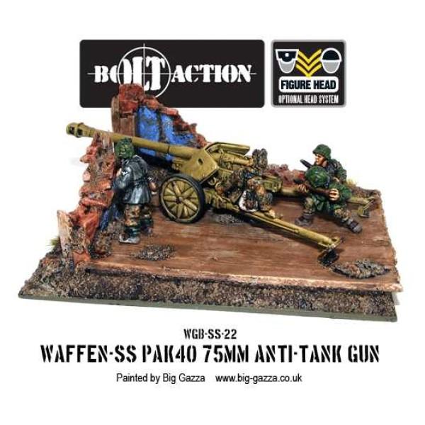 Bolt Action - Germany - Waffen SS 75mm PAK 40