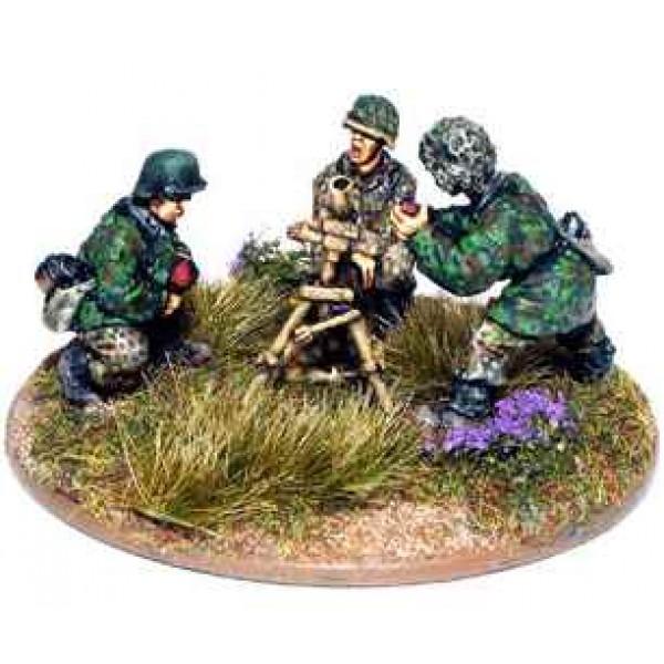 Bolt Action - Germany - Waffen SS 81mm Mortar Team