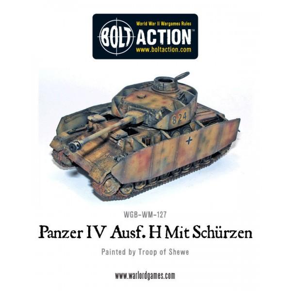 Bolt Action - Germany - Panzer IV AUSF H Mit Schurzen