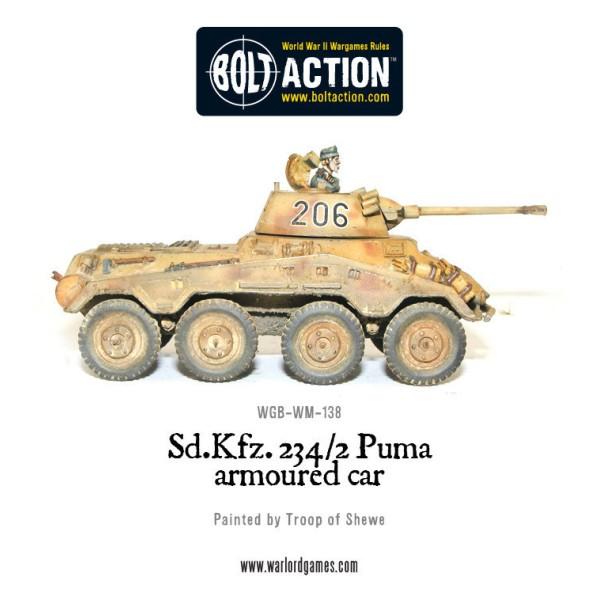 Bolt Action - Germany - Sd.Kfz 234/2 Puma Armoured Car