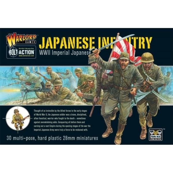 Bolt Action - Japan - Japanese Infantry Boxed Set