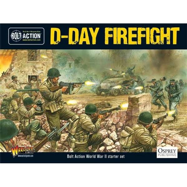 Bolt Action - Starter Set - D-Day Firefight (1st edition)