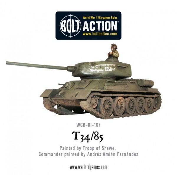 Bolt Action - Soviet - T-34/85 Medium Tank