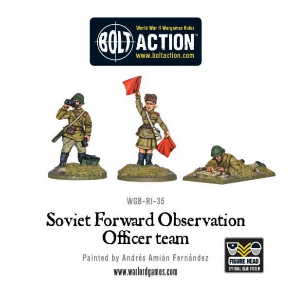 Bolt Action - Soviet - Forward Observer Officers