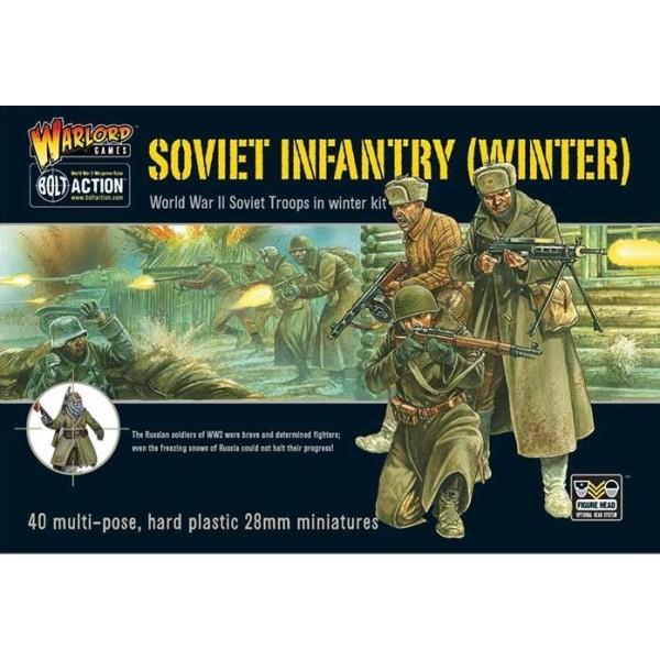 Bolt Action - Soviet - Winter Infantry - plastic box set