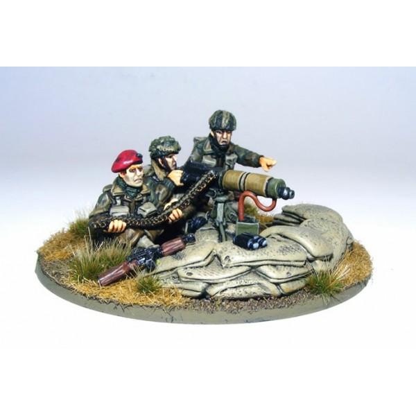 Bolt Action - British - Paratrooper Vickers HMG Team