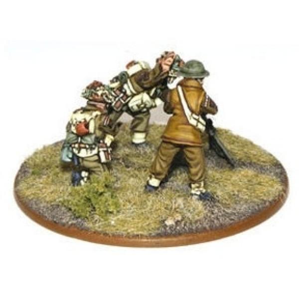 "Bolt Action - British - Army 3"" Mortar Team"