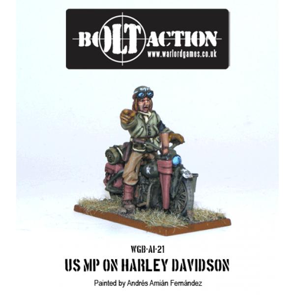 Bolt Action - US - MP on Harley Davidson