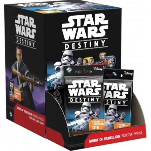Star Wars - Destiny - Spirit of Rebellion Booster - DISPLAY (36)