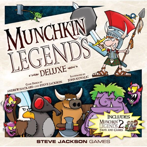 Munchkin - Legends Deluxe