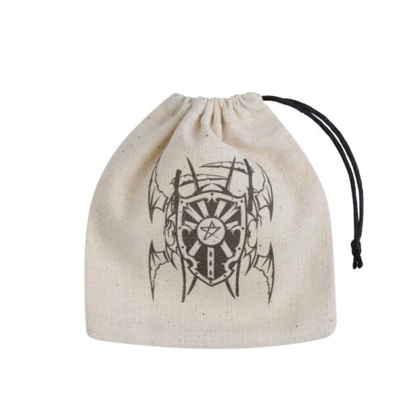 Vampire Basic Dice Bag - Beige & Black