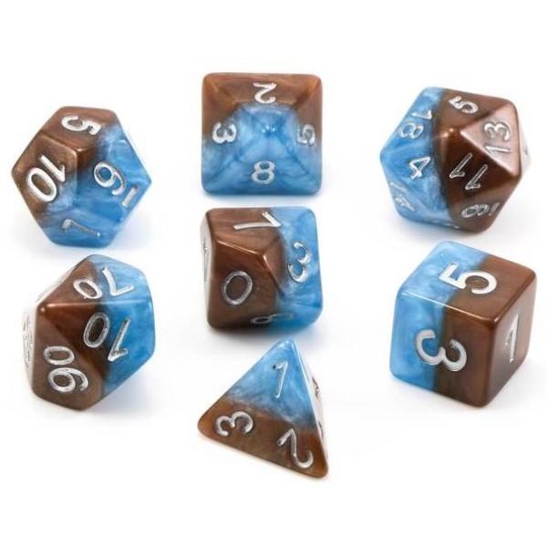 Halfsies RPG Dice - Earth Elemental Set
