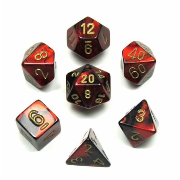 7 dice set chessex