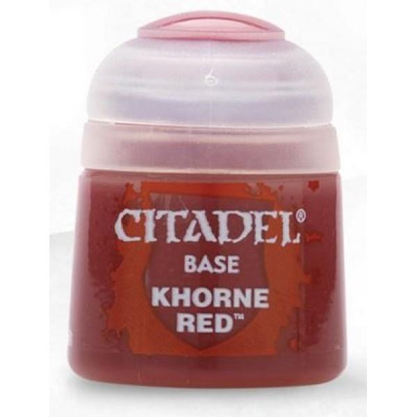 Citadel Base Paints - Khorne Red